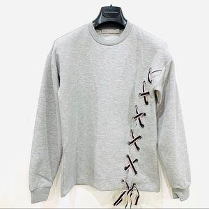 ASOS Oversized Grey Sweatshirt